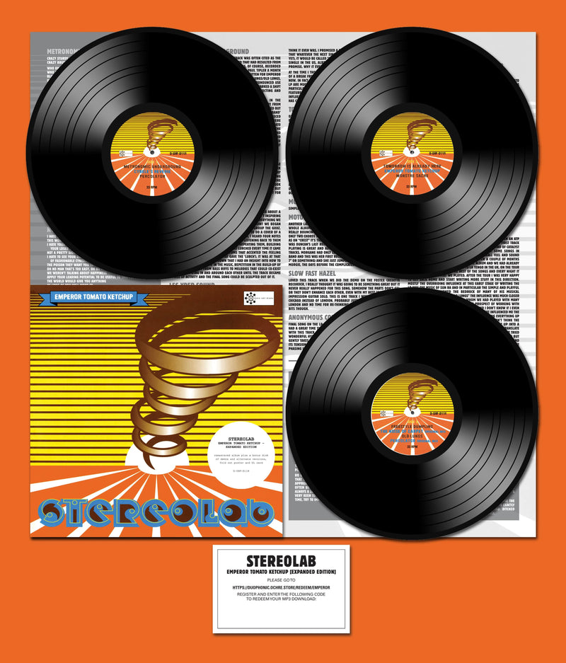 Stereolab - Emperor Tomato Ketchup: Expanded Edition (3xLP) Warp Records/Duophonic