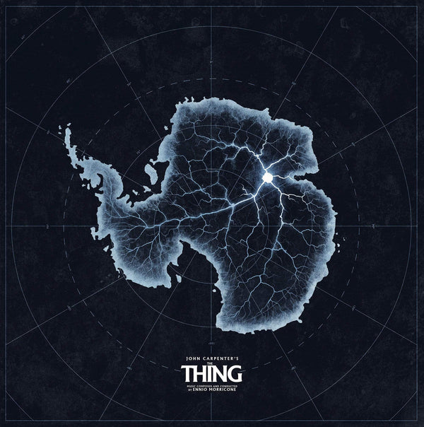 Ennio Morricone - The Thing: Original Soundtrack (LP - 180 Gram Snow White Vinyl) Waxwork Records