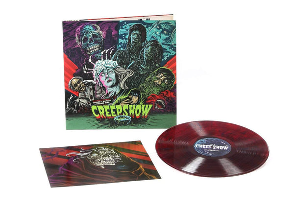 John Harrison - Creepshow: Original Score (LP - Red/Blue Smoke Vinyl) Waxwork Records