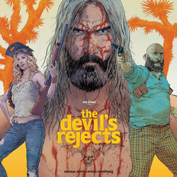 V/A - The Devil's Rejects (Soundtrack) (2xLP - 180 Gram Desert Sand & Blood Splatter Vinyl) Waxwork Records