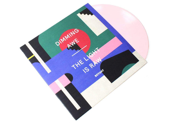 Botany - Dimming Awe, The Light is Raw (LP - Pink Vinyl) Western Vinyl