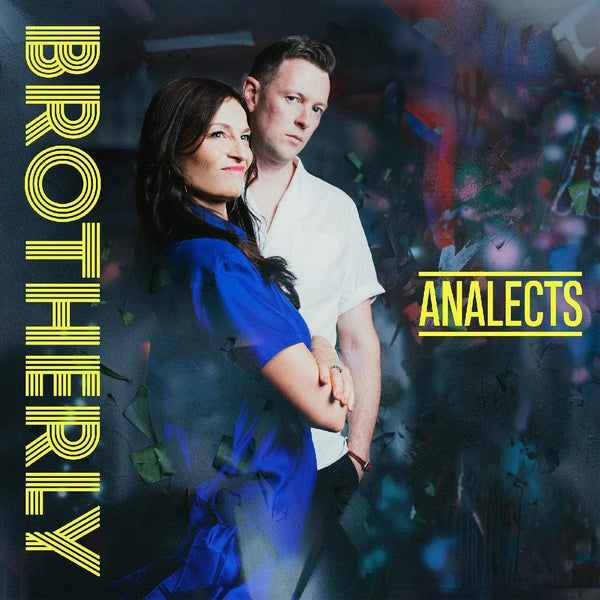 Brotherly - Analects (LP - ELECTRIC BLUE/WHITE VINYL) Whirlwind Recordings
