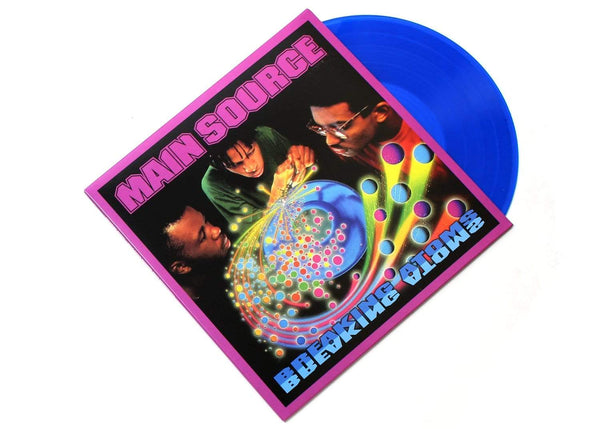 Main Source - Breaking Atoms: The Remaster (2xLP - Blue Vinyl) Wild Pitch Records