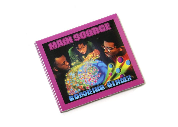 Main Source - Breaking Atoms: The Remaster (CD) Wild Pitch Records