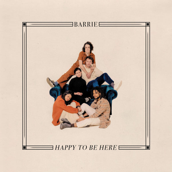Barrie - Happy To Be Here (LP - Cherry Red Vinyl) Winspear