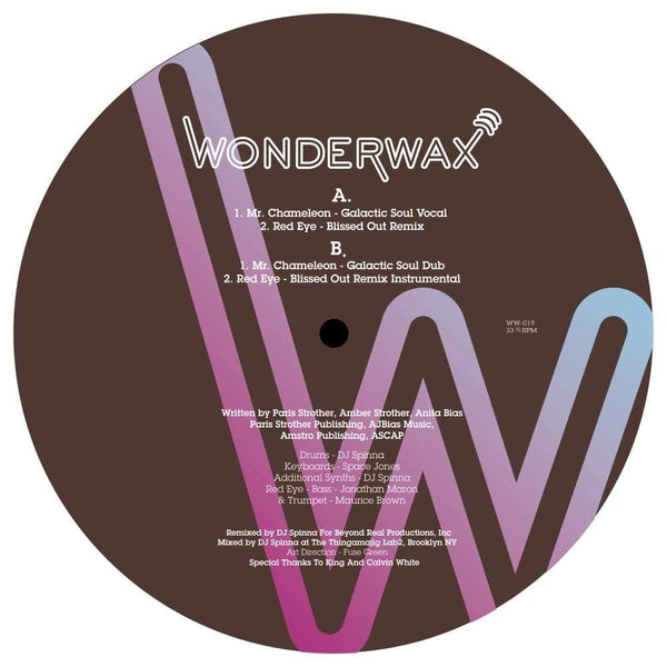 "KING - Mr Chameleon / Red Eye (DJ SPINNA Remixes) (12"") Wonderwax"