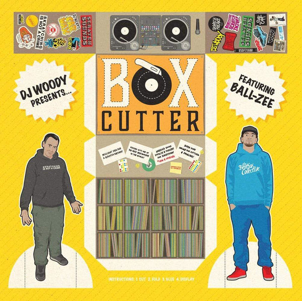 DJ Woody feat. Ball-Zee - Box Cutter (LP) Woodwurk