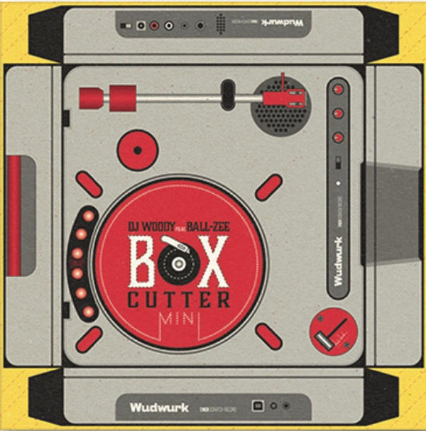 "DJ Woody featuring Ball-Zee - Box Cutter Mini (7"") Woodwurk"