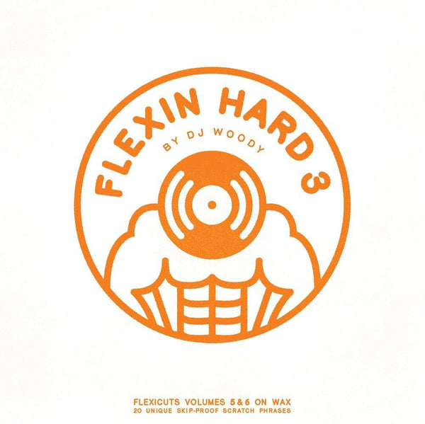 DJ Woody - Flexin Hard 3 (LP - Orange Vinyl) Woodwurk