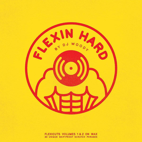 DJ Woody - Flexin Hard (LP - Breaks - Yellow Vinyl) Woodwurk