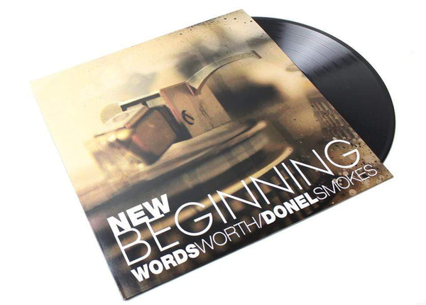 Wordsworth & Donel Smokes - New Beginning (LP) Wordwide Communications