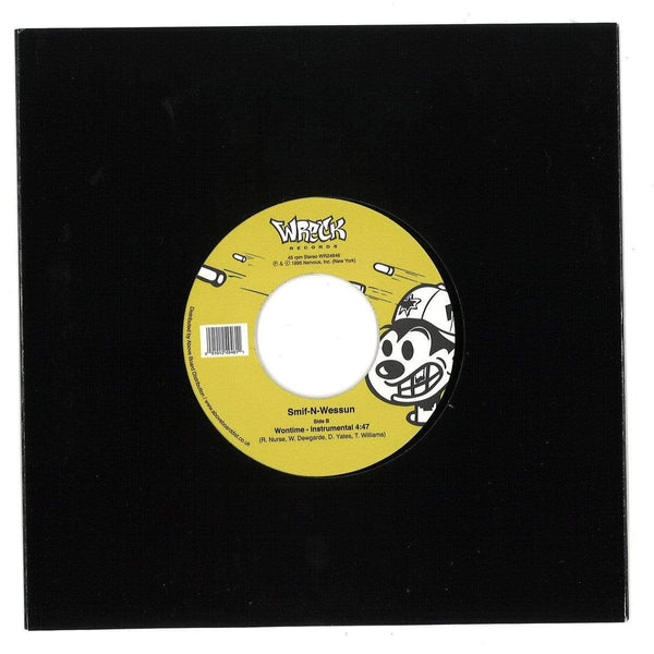 "Smif-N-Wessun - Wontime b/w Instrumental (7"") Wreck Records"