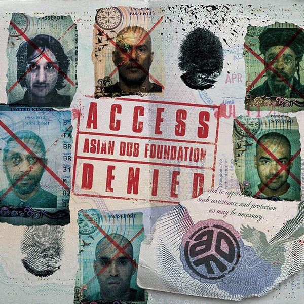 Asian Dub Foundation - Access Denied (CD) X-Ray Production