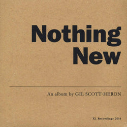 Gil Scott-Heron - Nothing New (LP + DVD) XL Recordings