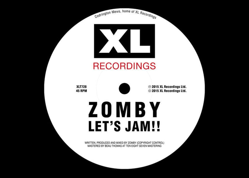 Zomby - Let's Jam!! 2 (EP) XL Recordings