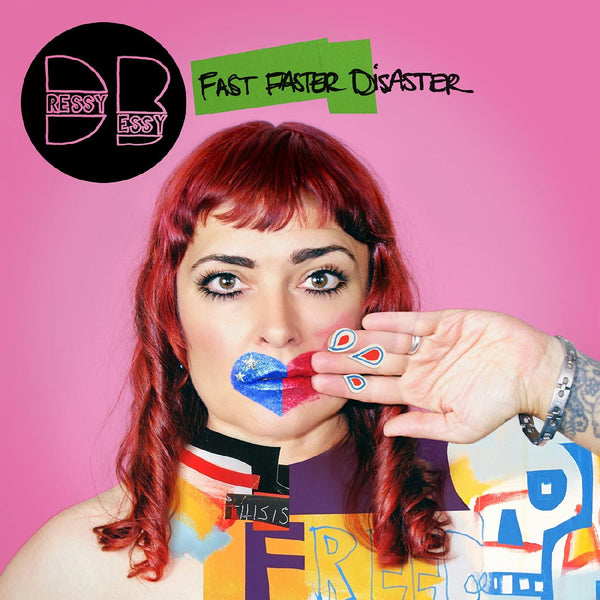 Dressy Bessy - Fast Faster Disaster (CD) Yep Roc Records