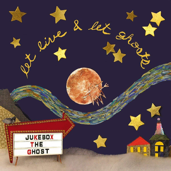 Jukebox the Ghost - Let Live & Let Ghosts: 10th Anniversary Edition (LP - Moon-Colored Vinyl + Poster Insert + Download Card) Yep Roc Records