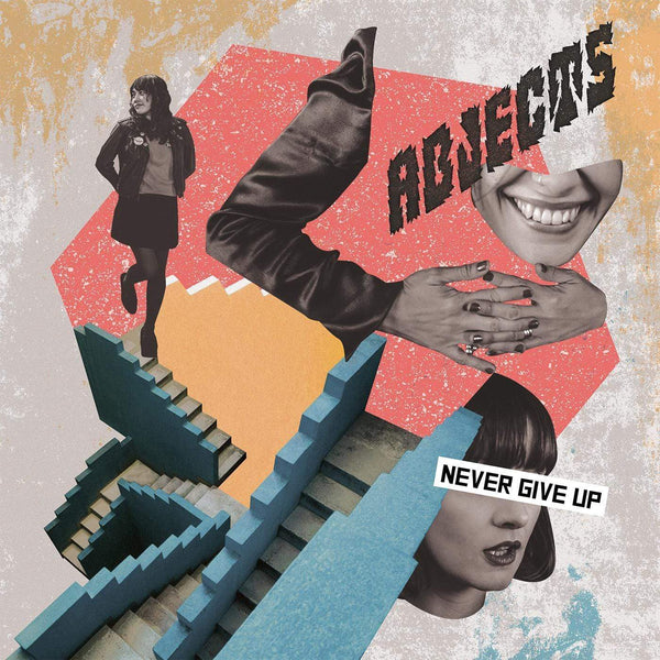 Abjects - Never Give Up (LP - 180 Gram Vinyl + Download Card) Yippee Ki Yay Records