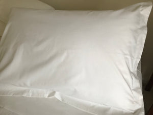 250tc King Size Pillow Cases with Trim