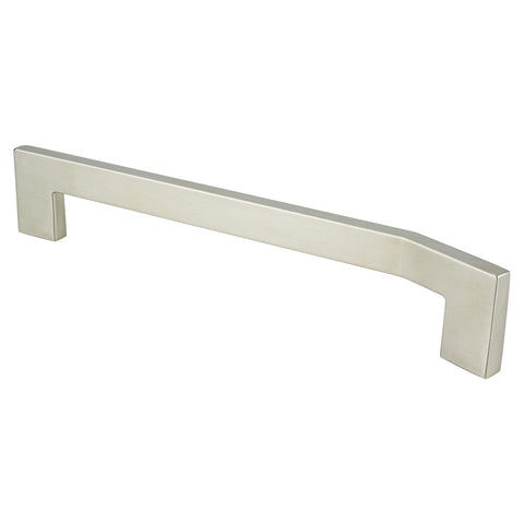 Angle 192mm CC Brushed Nickel Right Pull - ISO 14001 Standard Product