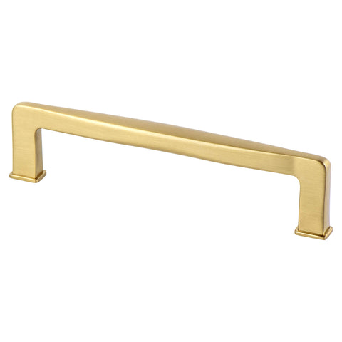 Subtle Surge 128mm CC Modern Brushed Gold Pull - Formally known as Modern Bronze