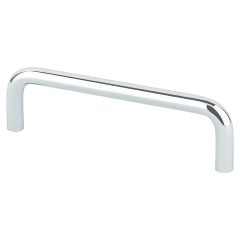Advantage Wire Pulls 4 inch CC Polished Chrome Steel Pull