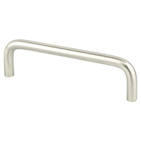 Advantage Wire Pulls 4 inch CC Brushed Nickel Steel Pull
