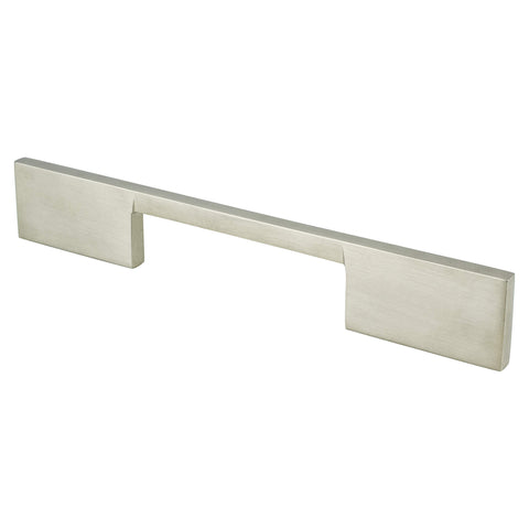 I-Spazio 128mm CC Brushed Nickel Pull - ISO 14001 Standard Product
