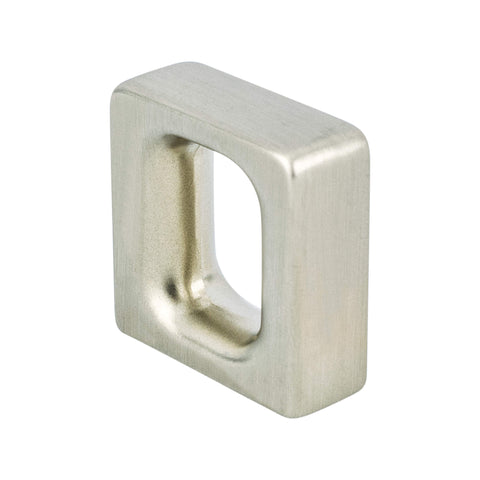 Dual 16mm CC Brushed Nickel Knob - ISO 14001 Standard Product
