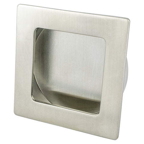 Stylus Brushed Nickel Large Recess Pull - ISO 14001 Standard Product