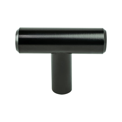 Transitional Advantage Two Black T-Bar Knob