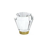 Brookmont Crystal Knob - Clear