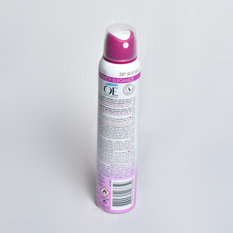 OE - déodorant spray senteur de fête - invisible care 48h - 200ml