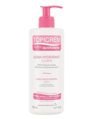 Topicrem Lait Corps Ultra-Hydratant 500ML - GRAND MARCHÉ