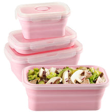 Load image into Gallery viewer, Silicone Food Storage Container Set