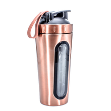 Load image into Gallery viewer, Copper Stainless Steel Shaker Bottle
