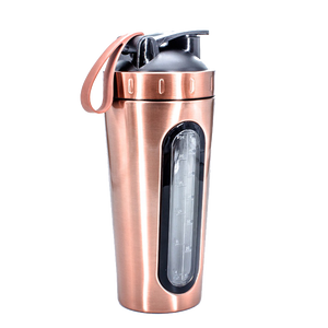 Copper Stainless Steel Shaker Bottle