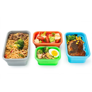 Silicone Food Storage Container Set of 4