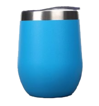Load image into Gallery viewer, blue wine tumbler