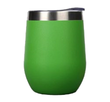 Load image into Gallery viewer, green wine tumbler
