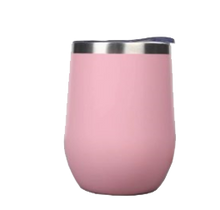 Load image into Gallery viewer, pink wine tumbler