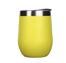 Load image into Gallery viewer, yellow wine tumbler
