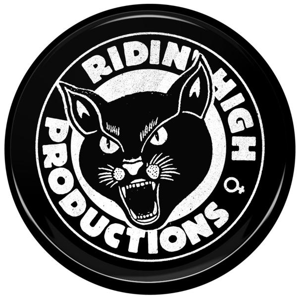 RIDIN' HIGH PANTHER LOGO BUTTON