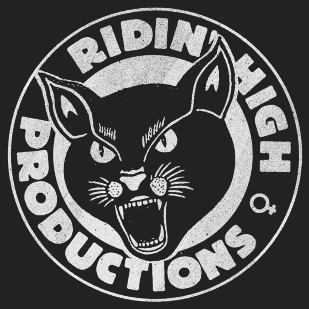 RIDIN' HIGH PROD. PANTHER LOGO SHIRT