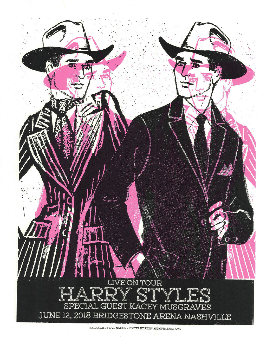 HARRY STYLES / KACEY MUSGRAVES POSTER