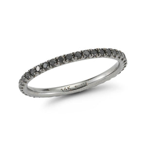 Black Diamond Eternity Stackable Band