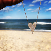 Load image into Gallery viewer, Diamond Heart Necklace