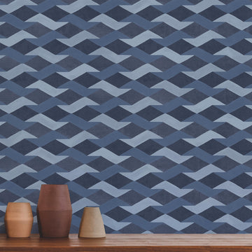 Habita wallpaper - Lapis pattern