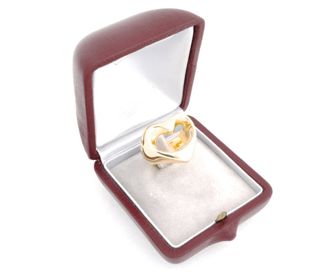Georg Jensen Gold Heart Ring