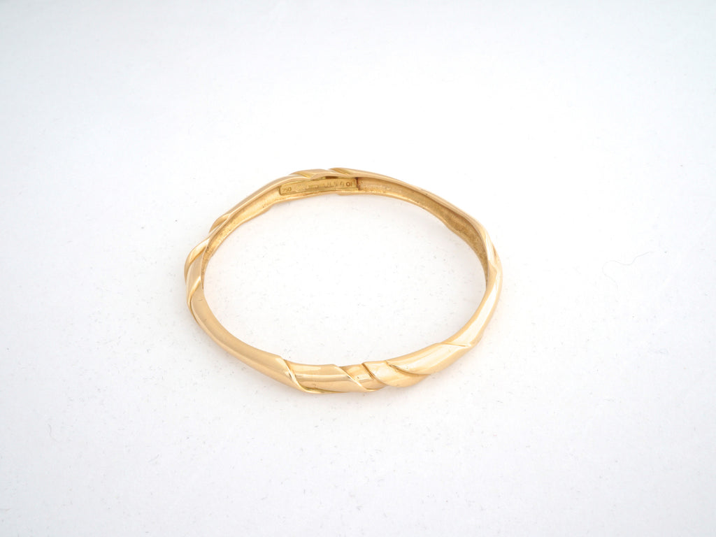 Georg Jensen Gold Bangle